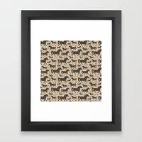 Ponies, Peppermints, Car… Framed Art Print