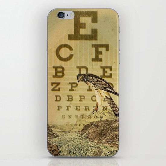 eye chart I iPhone & iPod Skin