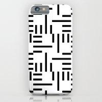 Kemper Black & White iPhone 6 Slim Case