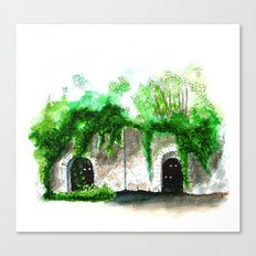 Would you go in there? Canvas Print