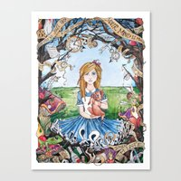 Just Ask Alice ..... Canvas Print