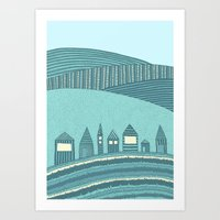 Where Seven Dwarfs Live Art Print