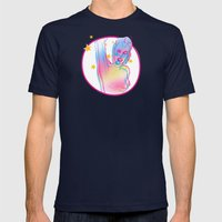 grrL2 Mens Fitted Tee Navy SMALL