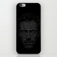 House MD Quotes Print (It's never lupus) iPhone & iPod Skin