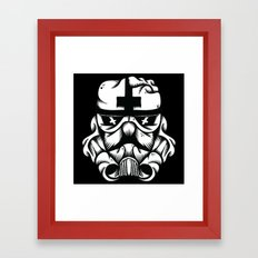 Satanic Trooper Framed Art Print