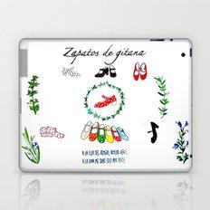 Zapatos de Gitana Laptop & iPad Skin