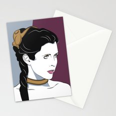 80s Princess Leia Slave Girl Stationery Cards