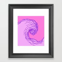 The Wave #2 Framed Art Print