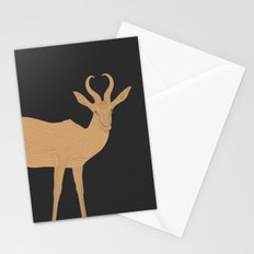 All lines lead to the...Inverted Springbok Stationery Cards