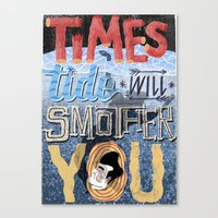 Smiths - Times Tide - Mo… Canvas Print