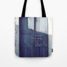 Santorini Door I Tote Bag