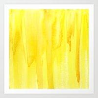 Yellow No. 2 Art Print