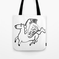 Mythical Thoroughbreds Tote Bag