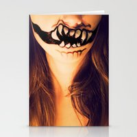 October's Mouth Stationery Cards