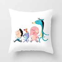 Parade Throw Pillow