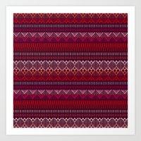 Weave Art Print