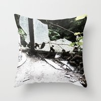 The Headless Mother Throw Pillow