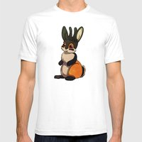 Jackalope Mens Fitted Tee White SMALL