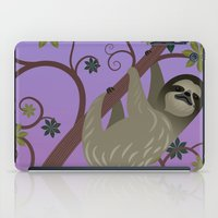 Sloth in a Tree iPad Case