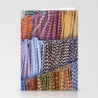 Color threads Stationery Cards