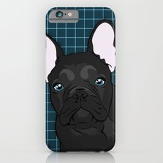 Black Frenchie iPhone 6s Slim Case