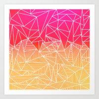 Bindi Rays Art Print