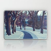 A long & winding road Laptop & iPad Skin