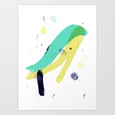 +∆+ Art Print