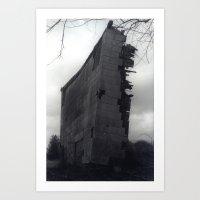 Structural Damage Art Print