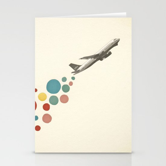 Leaving on a Jet Plane Stationery Card