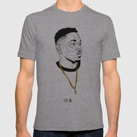 Kendrick Lamar Mens Fitted Tee Athletic Grey SMALL