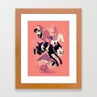 Over, Under, and Through Framed Art Print