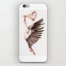 Baby on Bird iPhone & iPod Skin