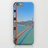 iPhone & iPod Case featuring Golden Gate Bridge by Christine Workman