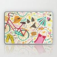 Seaside Cycle Laptop & iPad Skin