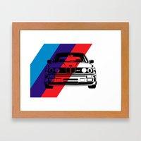 E30 M3 Framed Art Print