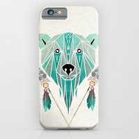 iPhone Cases featuring polar bear by Manoou