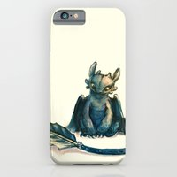 iPhone & iPod Case featuring Toothless by Alice X. Zhang