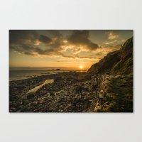 Cape Cornwall Dusk  Canvas Print