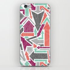 Patterned Arrows iPhone & iPod Skin