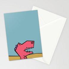 DINO GIRL   Stationery Cards