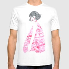 poppy girl Mens Fitted Tee White SMALL