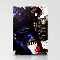 Spiderman In London Stationery Cards