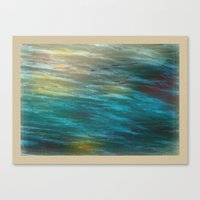 Turbulance in Breaking Light Canvas Print