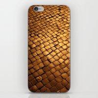 paving stone gold iPhone & iPod Skin