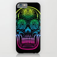 iPhone & iPod Case featuring La Bella Muerte by Brewer Arts