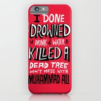 Muhammad Ali: Drowned A … iPhone 6 Slim Case