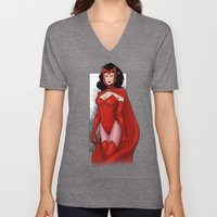 Scarlet Witch Unisex V-Neck