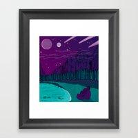 Stargazers Framed Art Print