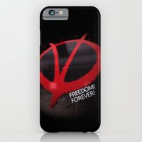 iPhone & iPod Case featuring Freedom Forever by Little cloud